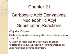 Chapter 20: Carboxylic Acids and Nitriles