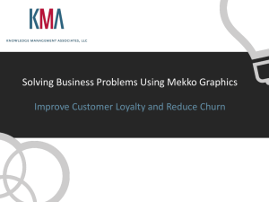 Improve Customer Loyalty and Reduce Churn