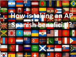 AP Spanish Language 4-6 classes 9