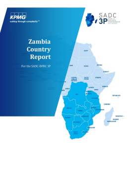 Zambia Country Report_KPMG