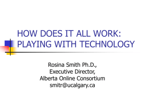 how does it all work: playing with technology