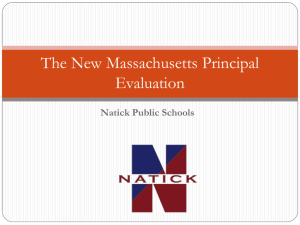 Administrator Evaluation PowerPoint