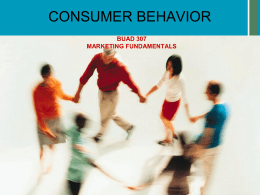 07-Sp15--Consumer_Behavior