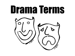 Drama Terms - Saturated Mind