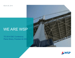 WSP-TD Conference