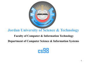 665a6b23f Introduction to Computers - Jordan University of Science and