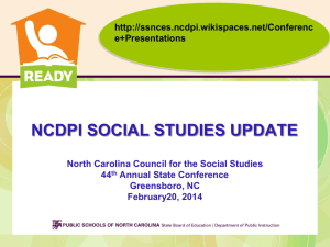 NCCSS Conference 2014_NCDPI Update_2-20