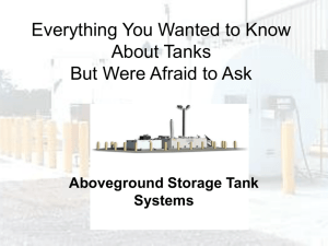 Everything You Wanted to Know About Tanks But