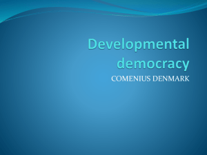 Developmental democracy