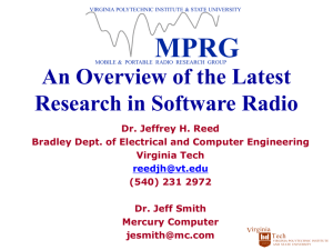 An Overview of the Latest Research in Software Radio