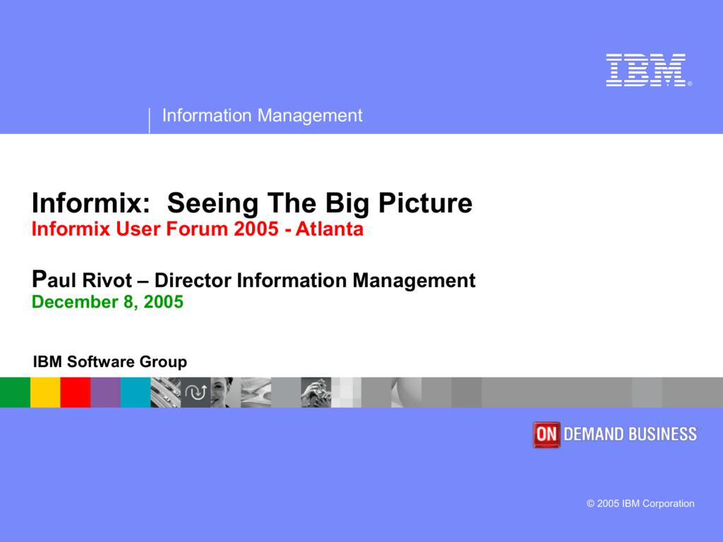 DB2 Information Management Sof...