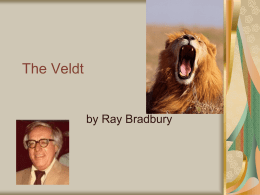 The Veldt PPT