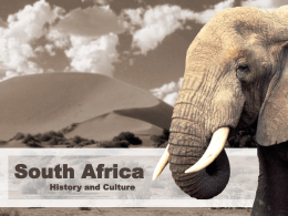 South Africa ppt