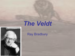 The Veldt - Glow Blogs