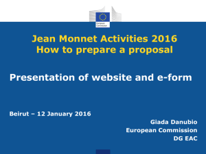 Jean Monnet Activities 2016 clean