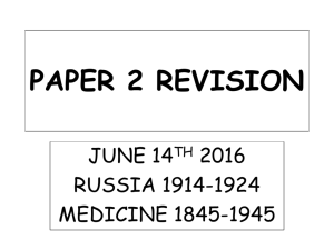 Paper 2 revision booklet All Bands