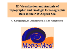 3D Visualization and Analysis of Topographic and Geologic