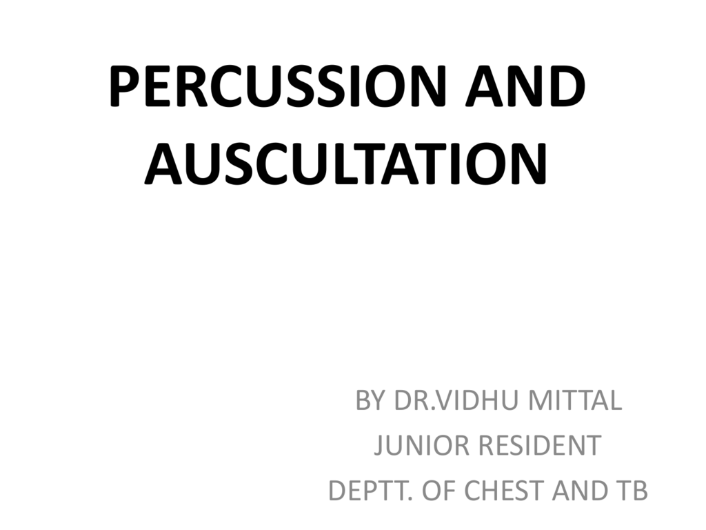 Percussion of the heart. Medical diagnostic methods 20