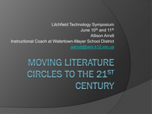 Moving Literature Circles to the 21st Century