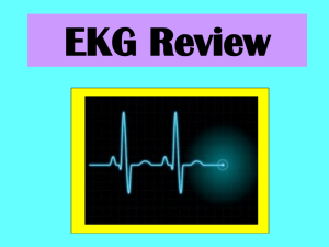 EKG Review - Rescue One