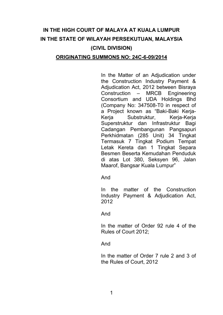 Westcourt Corporation Sdn Bhd Portal Rasmi Mahkamah Kuala