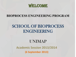 bioprocess engineering program school of