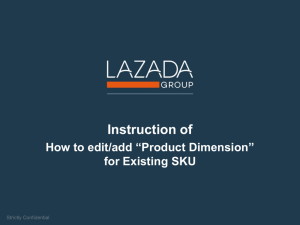 Product dimension Existed English