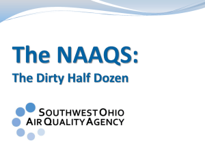 Health Impact - Southwest Ohio Air Quality Agency