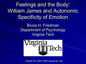 Psyc 609: Physiological Psychology