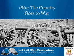 The Country Goes to War PPT