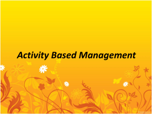 Activity Based Management - Blog at UNY dot AC dot ID