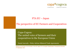 Copa-Cogeca - EESC European Economic and Social Committee