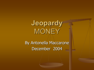 Jeopardy Cycle, Ch 1-3