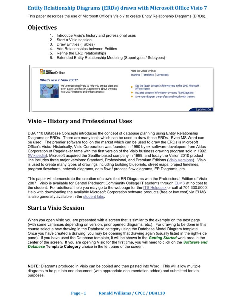 Ms Visio 2007 Tutorial Detailed