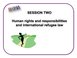 Session 2: Human Rights and Responsibilities