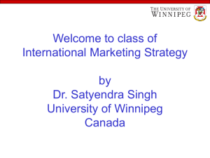 International Marketing Strategies