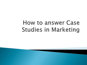 Why case study method