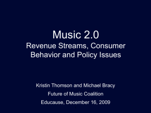 Music business models