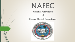 National Association of Farmer Elected Committees