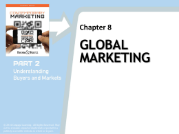 global marketing ch 1