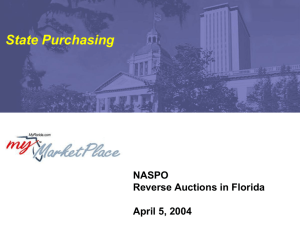 April 5, 2004 (NASPO) Reverse Autions Power Point
