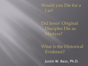 Can we trust the evidence for the resurrection of Jesus?