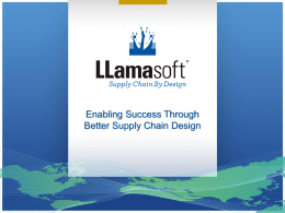 Enabling Success Through Better Supply Chain Design