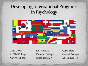 Kenneth Abrams - The 6th International Conference on Psychology