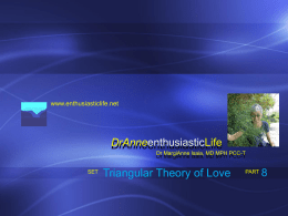 Triangular Theory of Love – ppt