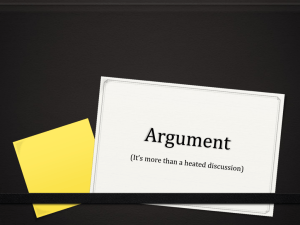 Argument - Everglades High School