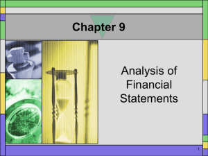 Chapter 9 Power Point Presentation 1