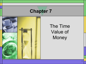 Chapter 7 Power Point Presentation 1