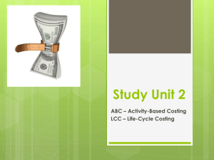 Study Unit 2 - CMAPrepCourse