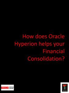 How does Oracle Hyperion helps you?